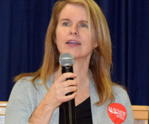 County Republicans Like Mayhew in Straw Poll