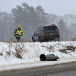 No Injuries in Waldoboro Rollover