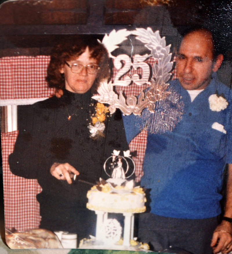 Mary and Richard Onorato celebrate their silver wedding anniversary Jan. 25, 1983. (Photo courtesy Onorato family)