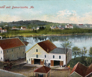 """<span class=""""entry-title-primary"""">Damariscotta History</span> <span class=""""entry-subtitle"""">Buildings that once stood on the location of Elm Street Plaza</span>"""