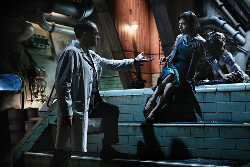 """A scene from """"The Shape of Water,"""" playing this weekend at Harbor Theater, Boothbay Harbor."""