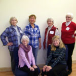 Hearts Ever Young Ladies Rehearse 'Chair Tap'