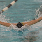 Lady Eagle swimmer Vanessa Albert medals in two events