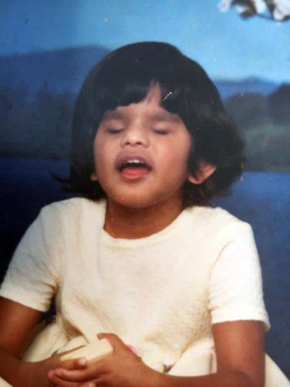 Amrita Plante as a little girl. (Photo courtesy Mobius Inc.)