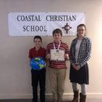 Noah Stephens Wins CCS Geography Bee