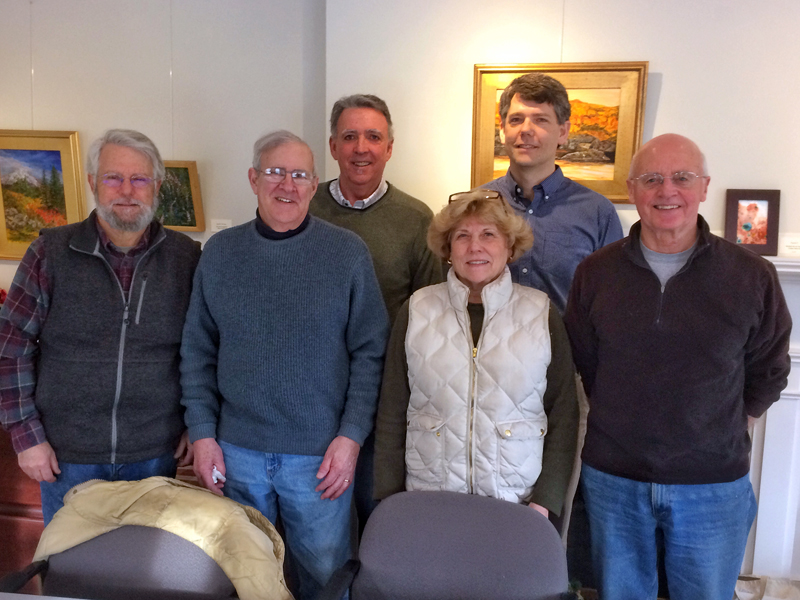 Members of the DRA-PWA Collaboration Study Team: (from left) Jim Hatch, Peter Lawrence, Michael Kane, Sandi Day, Steven Hufnagel, and Joel Russ. Not pictured: Carolyn McKeon.