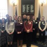 CCS Students, Principal Visit Maine State Senate