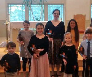 Music Students Hold String Recital