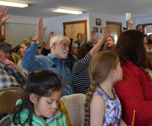 Alna Residents Vote to Limit School Choice