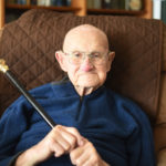 Bristol Man, 98, Receives Boston Post Cane