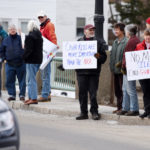 March for Our Lives Draws Crowd to Damariscotta-Newcastle Bridge