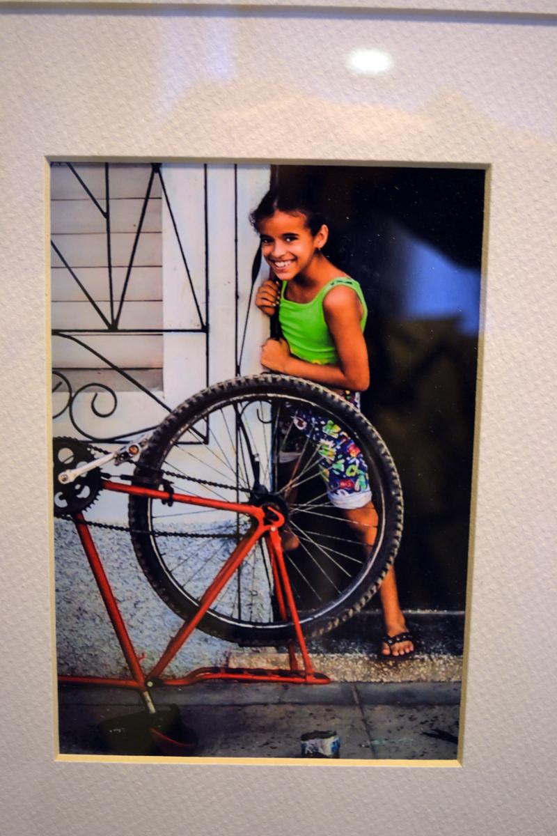"""Girl in Doorway,"" by Damariscotta photographer Katherine Garren. (Christine LaPado-Breglia photo)"