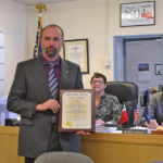 County Commissioners Congratulate Deputy of the Year