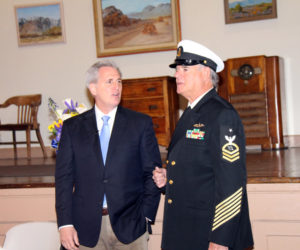 Lincoln County Native Receives Service Medals in California Ceremony