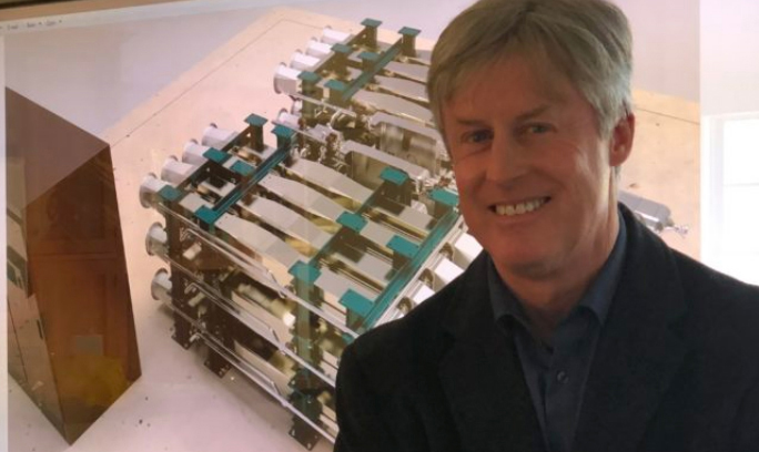 David Stapp, CEO of Peregrine Turbine Technologies, of Wiscasset, has attracted $2.2 million in funding to advance its high-tech turbine, which it plans to use in advanced microgrids. (Image courtesy Peregrine Turbine Technologies)