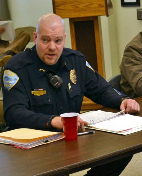 Wiscasset Police Chief Jeffrey Lange (LCN file)