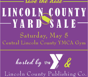 Lincoln County Yard Sale Scheduled for May 5
