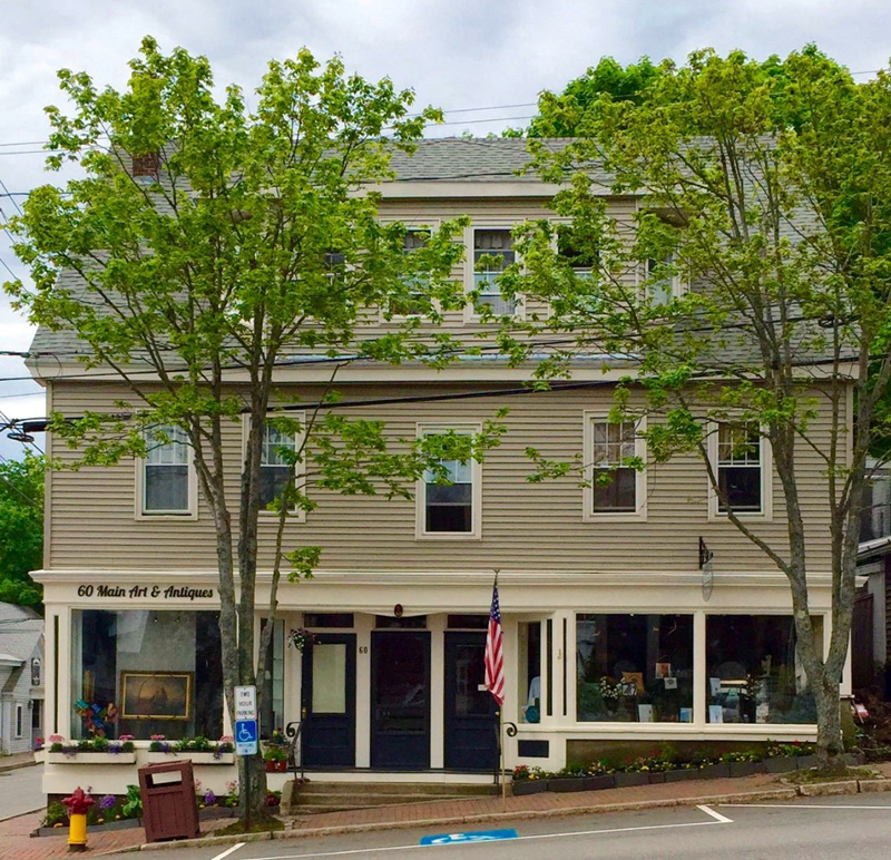 The Ketelhut building at 60 Main St. in Wiscasset. (Photo courtesy Bradbury Ketelhut)