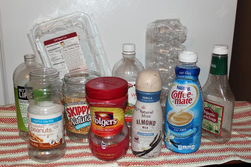 Examples of No. 1 plastics.