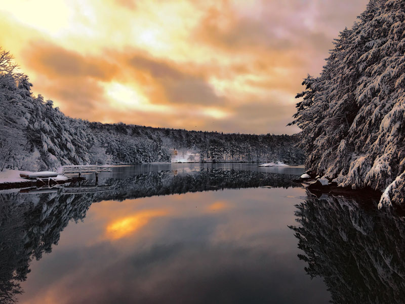 Damariscotta photographer Dennis Boyd won the March #LCNme365 photo contest with his shot of Parsons Creek in Edgecomb after receiving the most reader votes in an online poll. Boyd will receive a $50 gift certificate to JM Automotive, of Newcastle, the sponsor of the March contest.