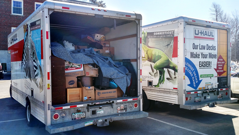 The Lincoln County Sheriff's Office is advising renters of storage units to check for break-ins or missing items after police seized two moving trucks full of items taken from storage units in four counties.