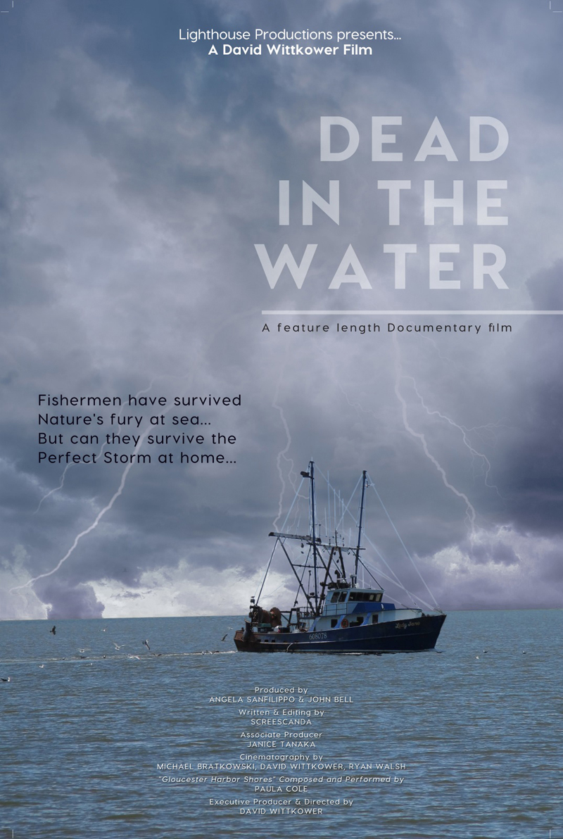 "The promotional poster for ""Dead in the Water."" (Image courtesy David Wittkower)"
