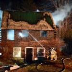 Bristol Log Cabin Takes Heavy Damage in Fire