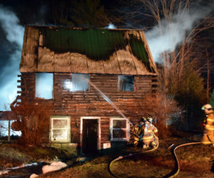 Bristol Log Cabin Takes Heavy Damage in Fire