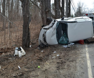 Driver Airlifted After Rollover on Bristol Road