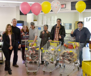 Newcastle Chrysler Gifts 60-Second Shopping Sprees at Main Street Grocery
