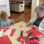NCS Students Celebrate Love with Seniors