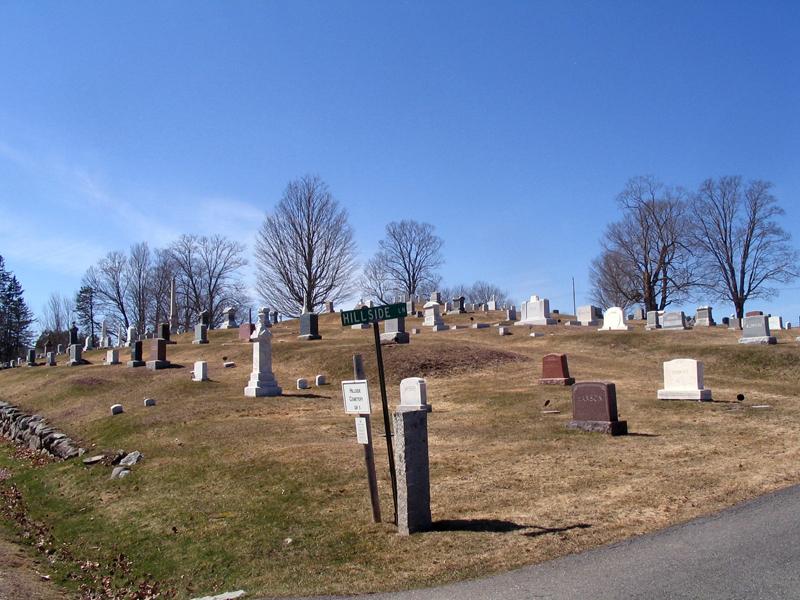Hillside Norris Yard (Photo courtesy Damariscotta Cemetery Trustees)