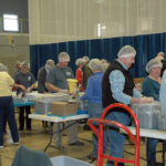 Volunteers Pack 20,000 Meals for Local Pantries