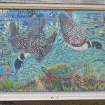Susan Bartlett Rice Mural Highlights Pemaquid Watershed