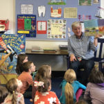 Van Dusen Visits Wiscasset Elementary