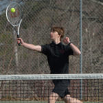 Boothbay boys tennis clip Wolverines