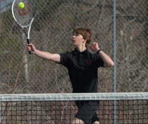 """<span class=""""entry-title-primary"""">Boothbay boys tennis clip Wolverines</span> <span class=""""entry-subtitle"""">Boothbay 4 - Wiscasset 1</span>"""