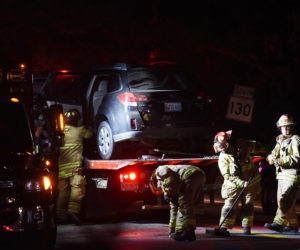 Minor Injuries in Collision by Hanley's Market