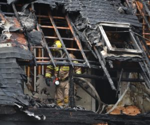 Fire Causes Extensive Damage to Damariscotta House, Cause Unknown