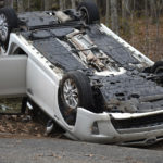 No Injuries in North Nobleboro Rollover