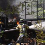 Workshop, Vehicles Burn in Walpole