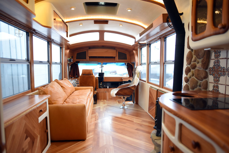 Outstanding Bus Conversion Reclamation Administration Home Interior And Landscaping Oversignezvosmurscom