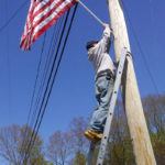 Flags Go Up in Waldoboro