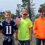 Whitefield Students Place 800 Flags on Veterans' Graves