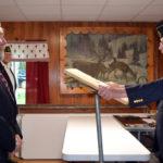 Wiscasset Legion Post Installs Officers