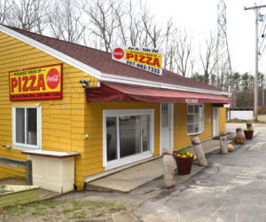 The Wiscasset House of Pizza, at 74 Flood Ave., will soon open under the management of Jeff and Maria Soldatos. (Charlotte Boynton photo)