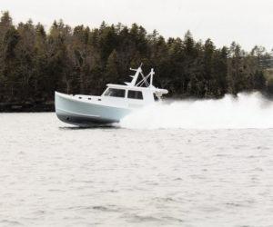 Farrin's Boatshop Delivers the 42 Sportfisherman