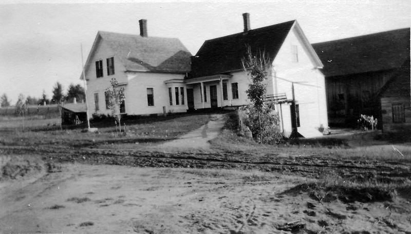 Taylor or Boyce house, unknown owner, unknown date.