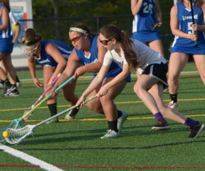 """<span class=""""entry-title-primary"""">Lady Eagle lacrosse beat Lawrence</span> <span class=""""entry-subtitle"""">Lincoln 11 - Lawrence 6</span>"""