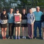 Lady Eagles Tennis Team Wins KVAC Crown
